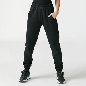 Joah Brown Black French Terry Empire Joggers